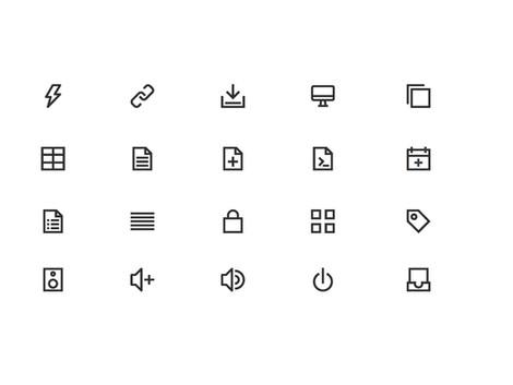 Unicon system font design