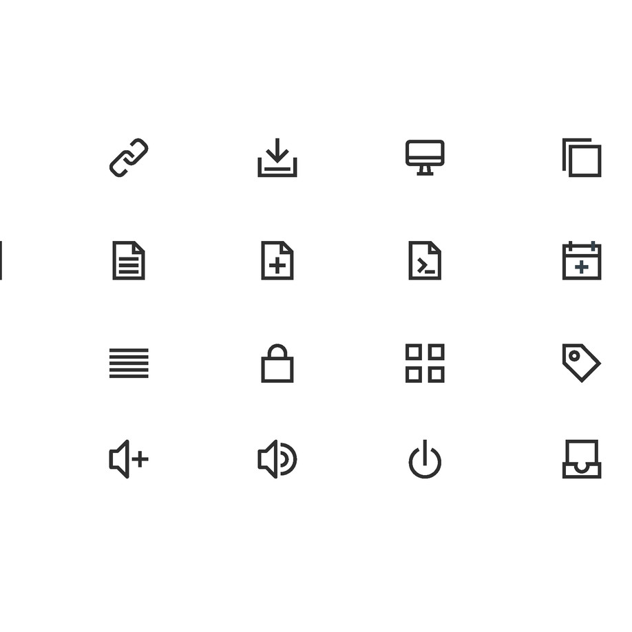 Unicons icon design