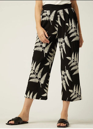 Fifteen Twenty - Embroidered Cropped Pants