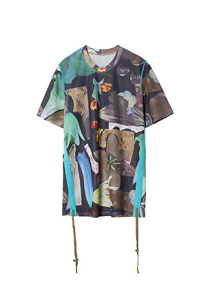 JNBY - Mesh T-Shirt in Abstract