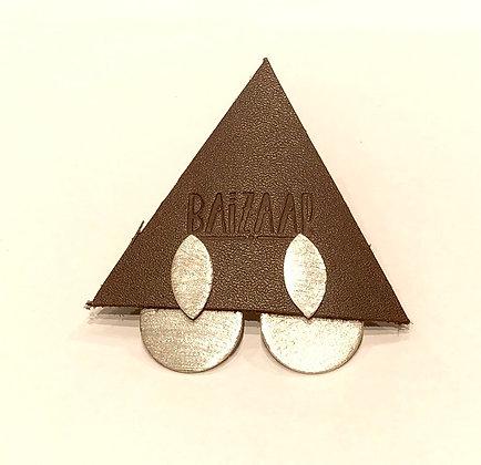 Moon Phase Ear Jacket Earrings