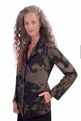 Alembika - Fawn Tie-Dye Shirt Jacket