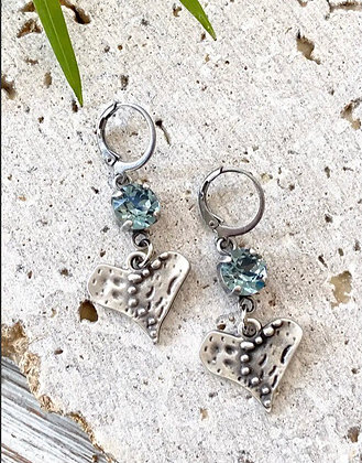 VB & Co. - Artisan Heart Earrings