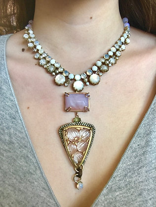 "Apryl Sasscer Jewelry - ""Dewdrop"" Necklace"