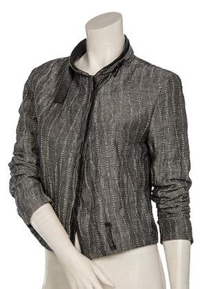 Beate Heymann Street Couture - Linen Striped Jacket