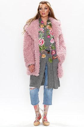Aratta - Blush Teddy Coat