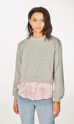 Generation Love - Emersyn Silk Combo Sweatshirt
