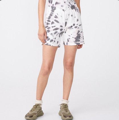 Monrow - Kaleidoscope Tie Dye Gym Shorts