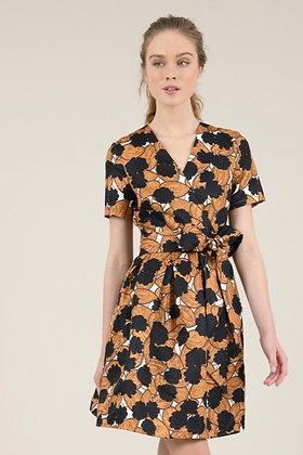 Molly Bracken - Printed Wrap Dress