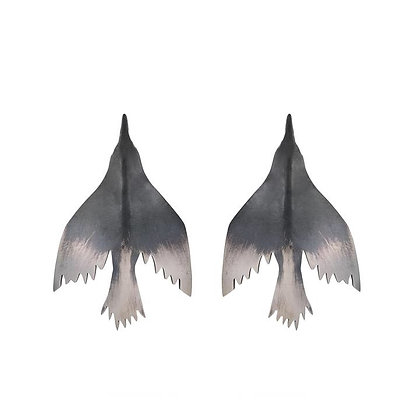 Unfettered Adornment - Quiet Flight Earrings