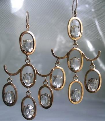 Apryl Sasscer Jewelry Pagoda Earrings
