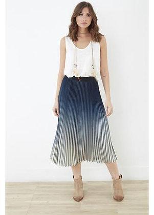 Lauren Vidal - Ombre Pleated Skirt