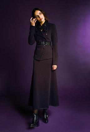 Beate Heymann Street Couture - Black Purple Skirt