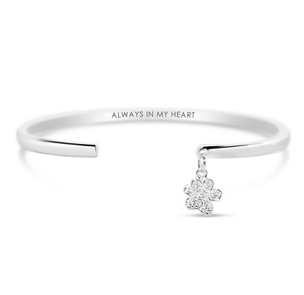 "Stia - ""Always in my Heart"" Dangle Cuff"
