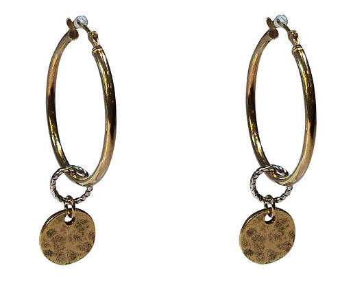 A.Punto - Hoops with Gold Tag
