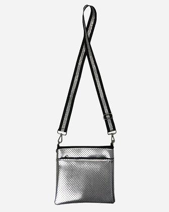 Ah-dorned - Neoprene Double Zipper Messenger with Strap