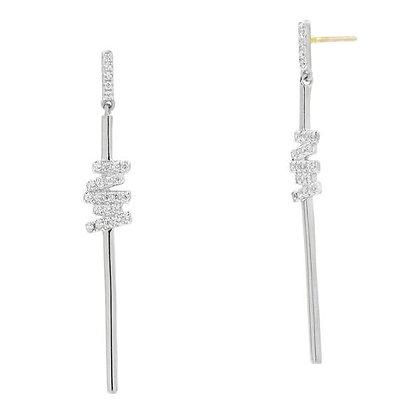 Freida Rothman - Delicate Linear Drop Earring
