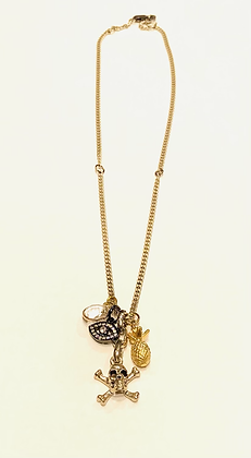 4 Charm Necklace