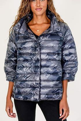 Anorak - Crop Sleeve Puffer Jacket