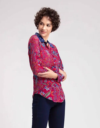 Benares - Fushcia Buttondown Shirt