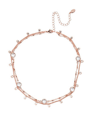Dewdrop Layered Necklace
