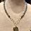 Thumbnail: Avaasi - Labradorite Round Pendant Necklace