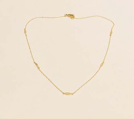 Delicate Stations Necklace