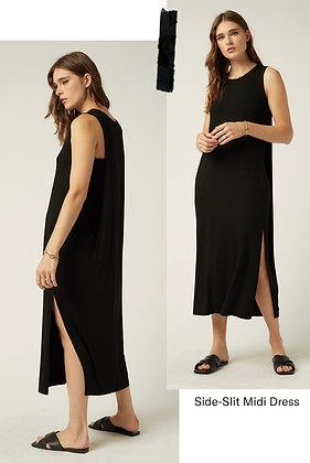 Fifteen Twenty - Side Slit Midi Dress