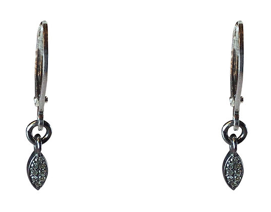 A.Punto - Marquise Diamond Earrings