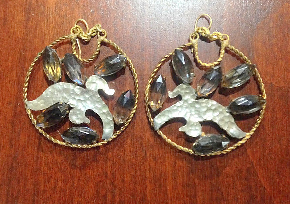 Apryl Sasscer Jewelry - Hammered Hoop Earrings