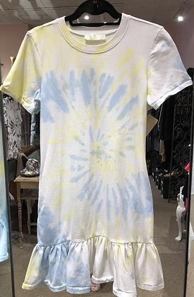 RD Style - Tie Dye Ruffle Dress