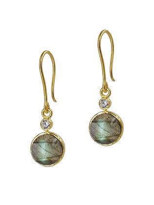 Avaasi - Labradorite & CZ Earrings