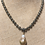 Thumbnail: Avaasi - Batoque Pearl with Pave Diamond Bail Necklace