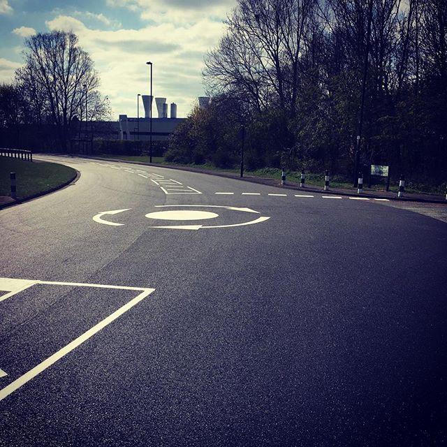 #road #roadtypography #roundabout #roadl