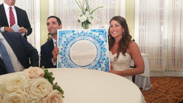 Blue Stained Glass - Dori & Matan