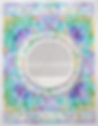 Purple & Green Stained Glass Ketubah