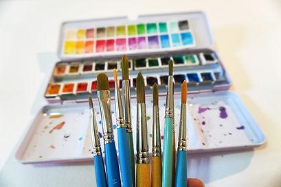 Watercolor studio by BRITcolors