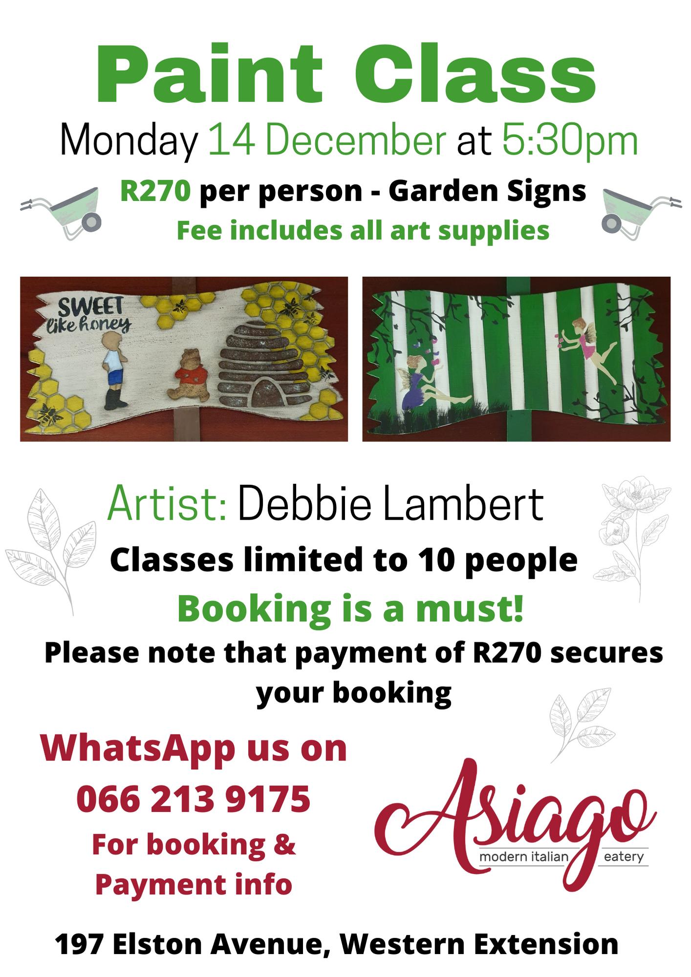 Paint Class 14 Dec 2020_Garden Signs