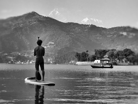 Pokhara procrastinations - Part 1 of a year with my wolf.
