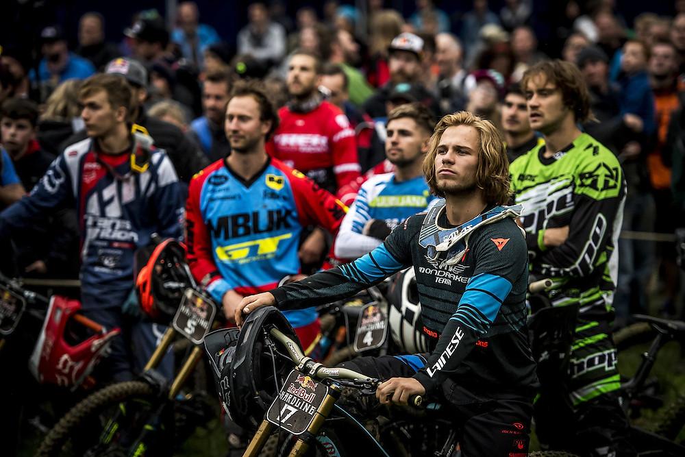 Red Bull Hardline riders assemble