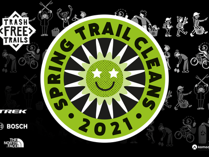 Spring Trail Cleans 2021 - Stories from the #TRASHMOB