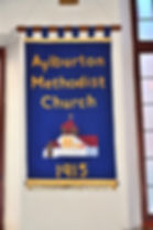 Aylburton Methodist Church Banner
