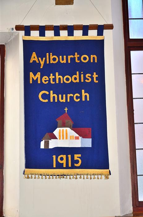 Aylburton Methodist Church Banner