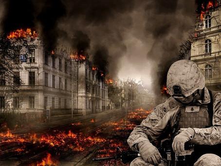 PROPHETIC WARNING:  WAR is coming!