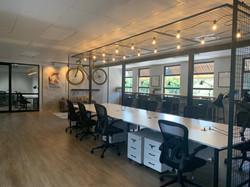 dedicated desks