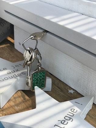 porte-clef mural en béton bbync gris clair