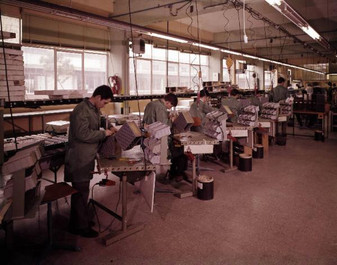 IME S.p.A. factory plant. Photo taken sometime between 1967 and 1968