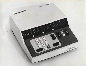 IME 120 electronic mini calculator with integrated circuits
