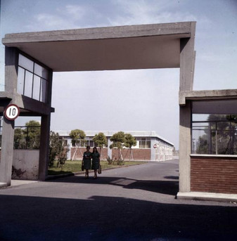 IME S.p.A. Factory Entrance 9/20/1967 (Probably in Pomezia, Rome)