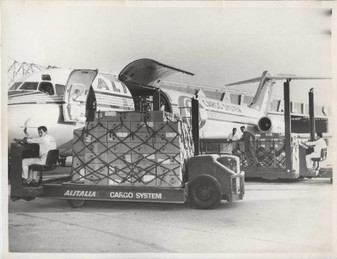 Full air cargo shipment of electronic IME calculators